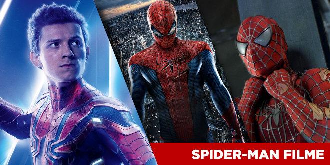 Spider-Man Filme - Reihenfolge und Liste
