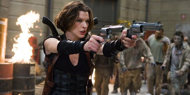 Alice (Milla Jovovich) in Resident Evil: Afterlife
