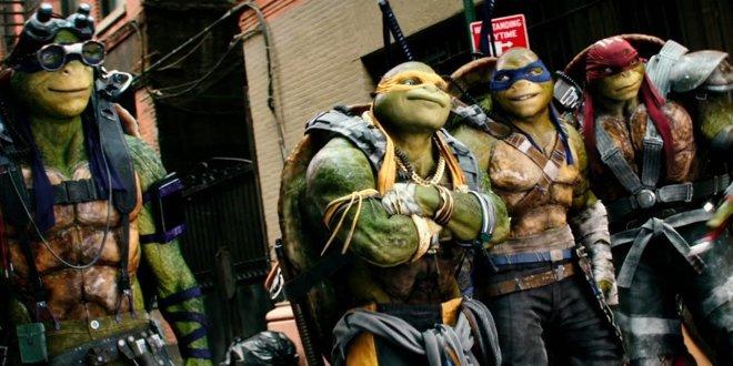 DieTeenage Mutant Ninja Turtles im letzten bisher erschienenen Film.