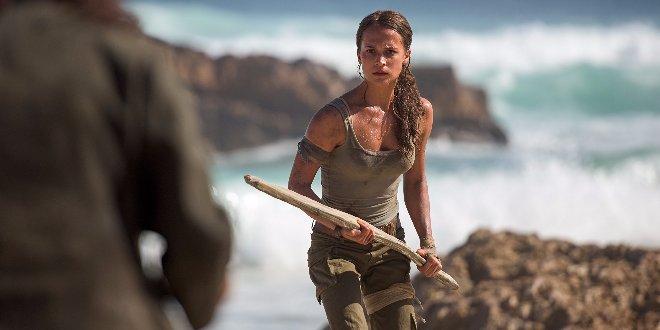 Alicia Vikander als Lara Croft in Tom Raider (2018)