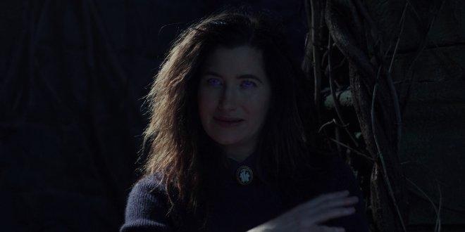 Agatha Harkness (Kathryn Hahn) in WandaVision