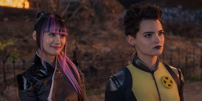Yukio (Shiori Kutsuna) und Negasonic Teenage Warhead (Brianna Hildebrand) in Deadpool 2