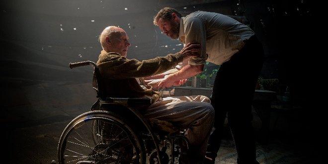 Professor X (Patrick Steward) und Logan (Hugh Jackman)