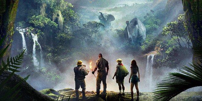 Jumanji: Willkommen im Dschungel - Trailer E