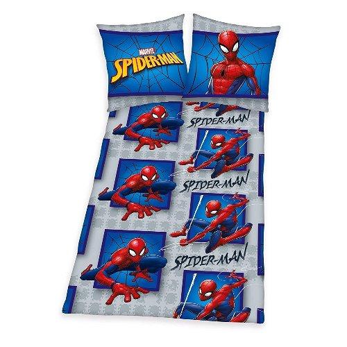Spider Man Bettwäsche Herding Flanell