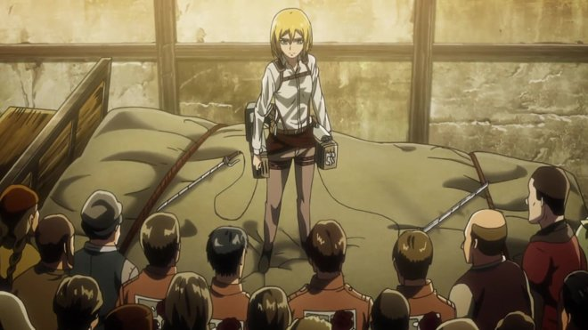 Attack on Titan 03x09 - Ruler of the Walls