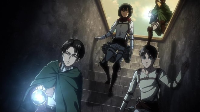 Attack on Titan 03x19 - Der Keller
