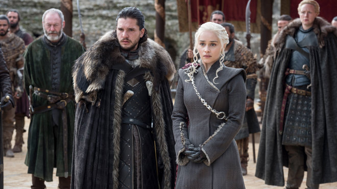 Game of Thrones 07x07 - Der Drache und der Wolf