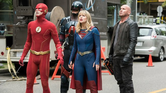 Legends of Tomorrow 05x01 - Crisis on Infinite Earths: Part Five (V)