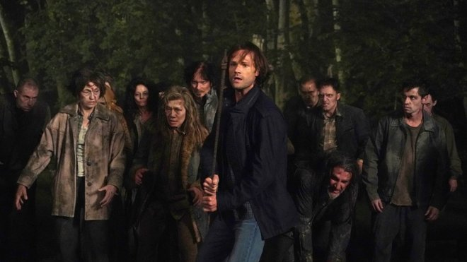 Supernatural 15x01 - Back and to the Future