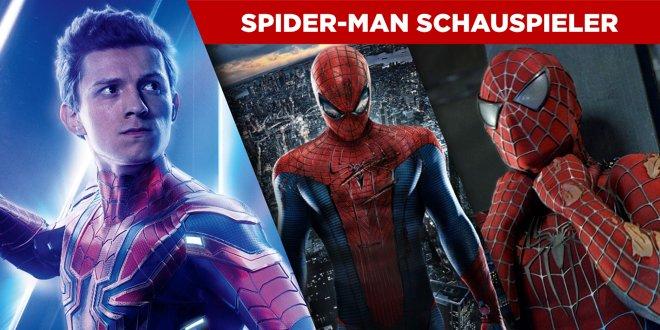 Alle Spider-Man Schauspieler: Die Darsteller von Peter Parker in der Übersicht