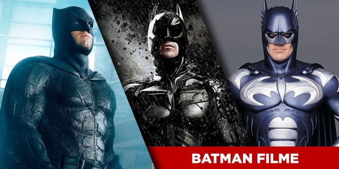 Batman Filme: Die Reihenfolge aller Auftritte des Dark Knight