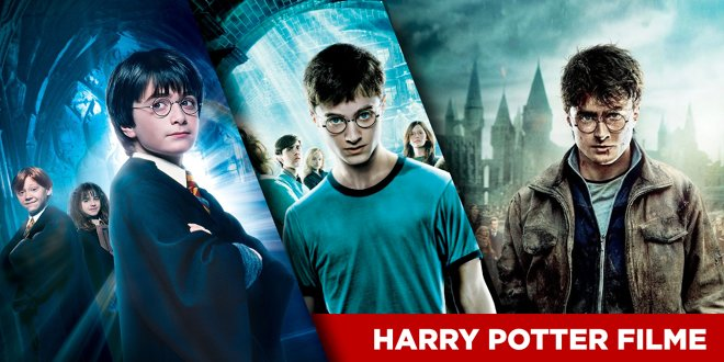 Harry Potter: Alle Filme und die richtige Reihenfolge