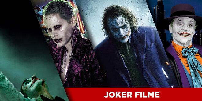 Joker: Die Filme mit dem Schurken von Gotham